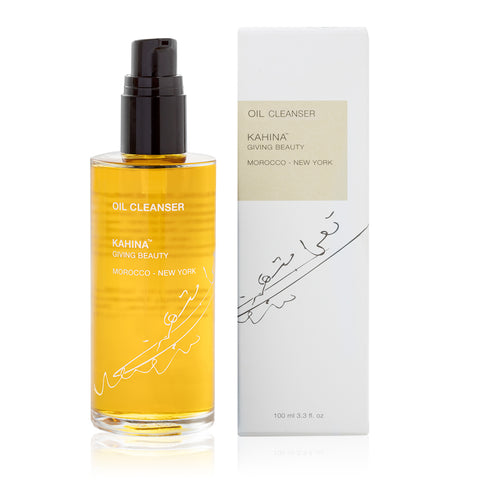 OIL CLEANSER <br> Dissolve makeup, sunscreen and bacteria with this nourishing oil cleanser, 100ml