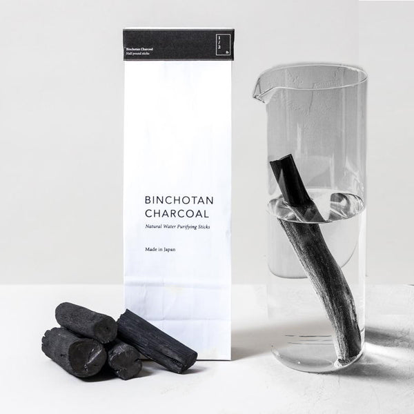 KISHU BINCHOTAN CHARCOAL <br> Highest quality charcoal for purifying water and air, 113g