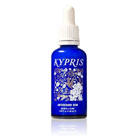 ANTIOXIDANT DEW <br> Quench and Glow serum <br> KYPRIS