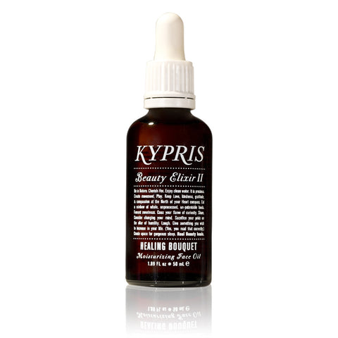 BEAUTY ELIXIR II : HEALING BOUQUET <br> Moisturising Face Oil for combination skin <br> KYPRIS
