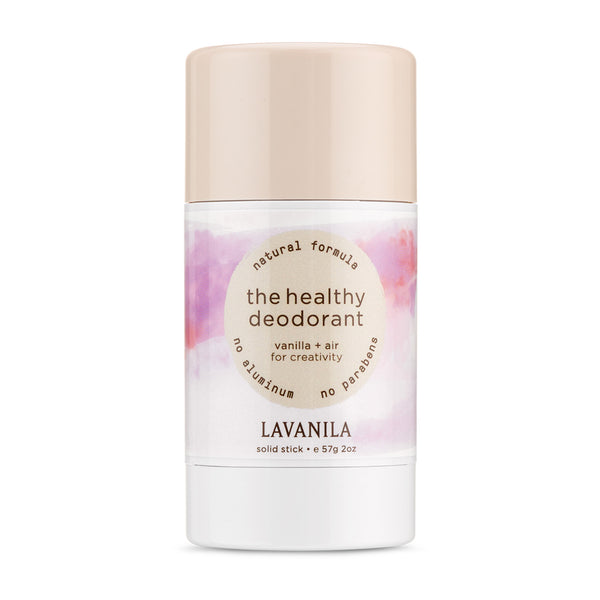 THE HEALTHY DEODORANT <br> Vanilla + Air