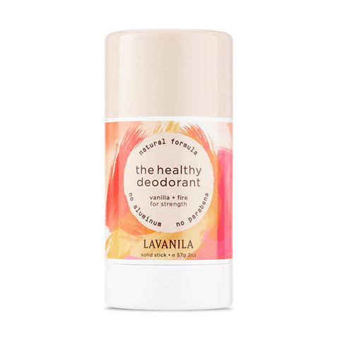 THE HEALTHY DEODORANT <br> Vanilla + Fire