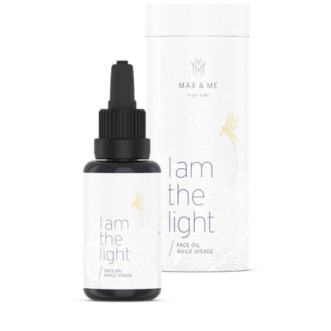 I AM THE LIGHT <br> illuminates skin and soul, highly vibrant <br> Facial Oil, 30ml
