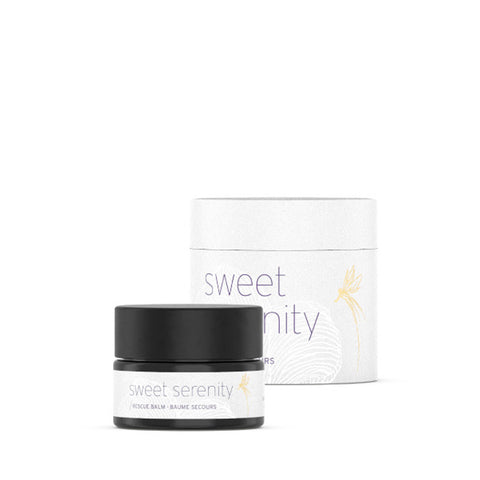 SWEET SERENITY: RESCUE <br> Skin saviour. Brings instant relief to a multitude of troubled skin conditions, 15ml