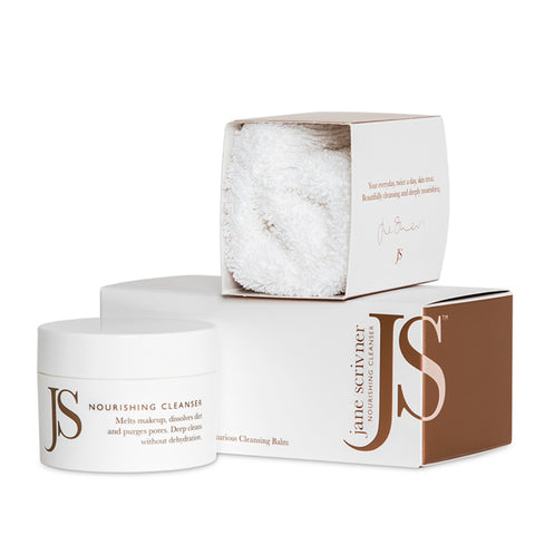 NOURISHING CLEANSER <br> Pro Elastin, Pro Collagen Organic Luxury Cleansing Balm <br> [ 2 sizes ]
