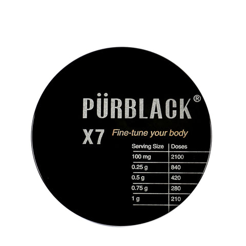 PÜRBLACK LIVE RESIN <br> High-efficacy Shilajit, a mineral-rich superfood adaptogen long used in Ayurvedic medicine (with Purscale) <br> 210g