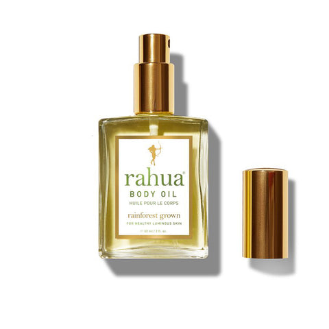 RAHUA BODY OIL <br> Lightweight, fast-absorbing, delivers luminous, healthy skin, 60ml