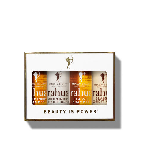 RAHUA JET SETTER KIT <br> Take the wonders of the Amazon and its beautifying ingredients for lustrous locks with you