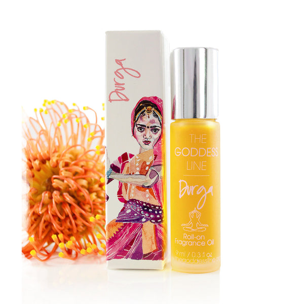 DURGA PERFUME OIL <br> Grapefruit, Vanilla and Vetiver, 10ml