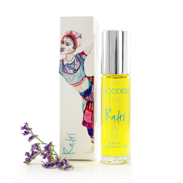 RATRI PERFUME OIL <br> Blood Orange, Tangerine, Bergamot and Lavender, 10ml