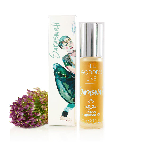 SARASWATI PERFUME OIL <br> Neroli, Jasmine and Patchouli, 10ml