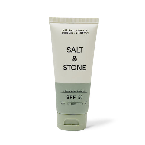 SPF 50 MINERAL SUNSCREEN <br> Broad-spectrum protection, 4 hr water resistant, reef safe