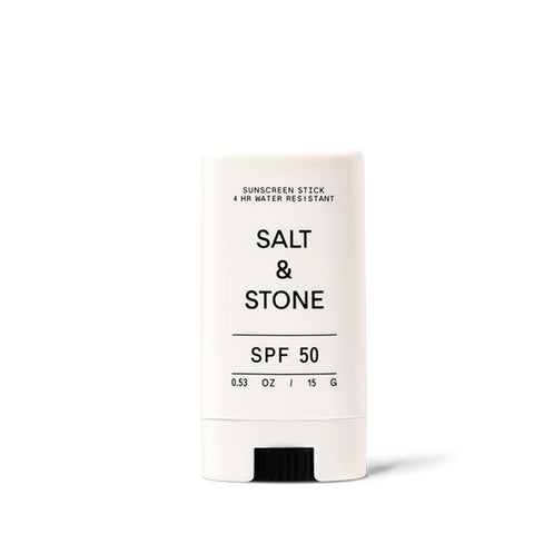 SPF 50+ SUNSCREEN FACE STICK - CLEAR <br> Broad-spectrum protection, 80 minutes water resistant, reef safe. 15g