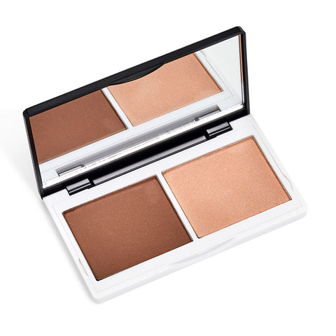 SCULPT & GLOW CONTOUR DUO <br> The totally foolproof trick to glowing skin, enviable contours and sky-high cheekbones