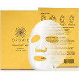VITAMIN C & REVITALIZING <br> ORGANIC SHEET MASK <br> Single Sheet