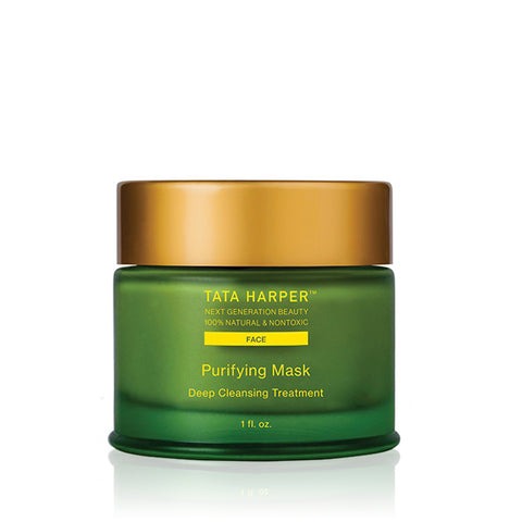 PURIFYING MASK <br> Intense and thorough cleansing mask fights the visible effects of environmental stressors, 30ml