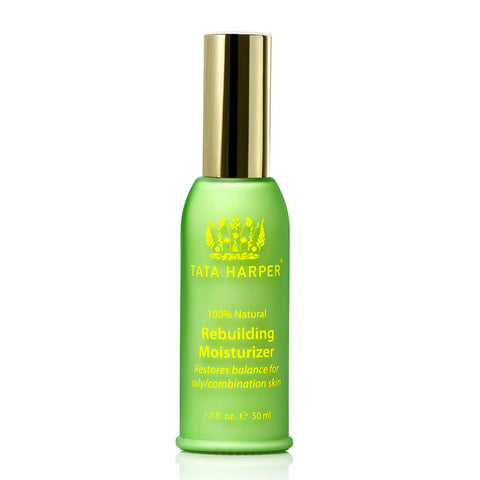 REBUILDING MOISTURIZER <br> Lightweight, matte-finish moisturiser, perfect for oily / combination skin, 50ml