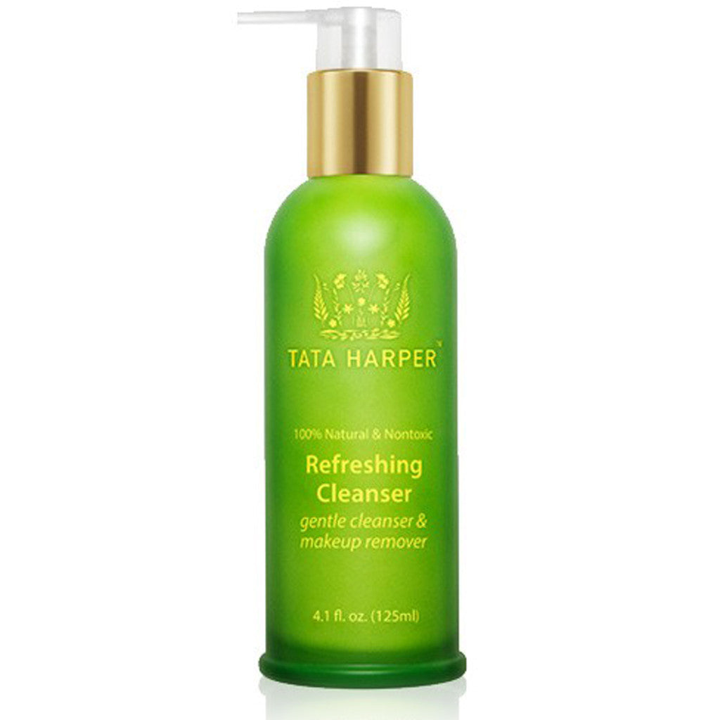 REFRESHING CLEANSER <br> Daily gentle, balancing and hydrating cleanser. For sensitive skin, 125ml