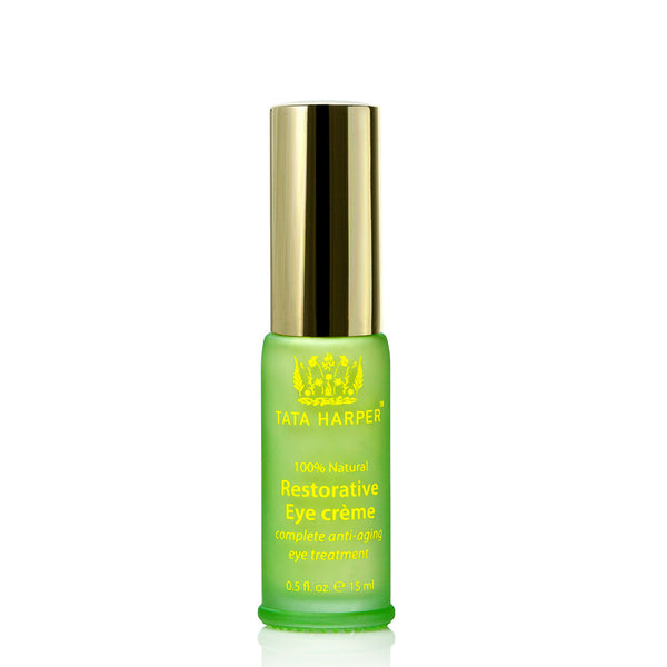 RESTORATIVE EYE CRÈME <br> Daily anti-ageing eye treatment helps reduce appearance of wrinkles, fine lines and dark shadows, 15ml