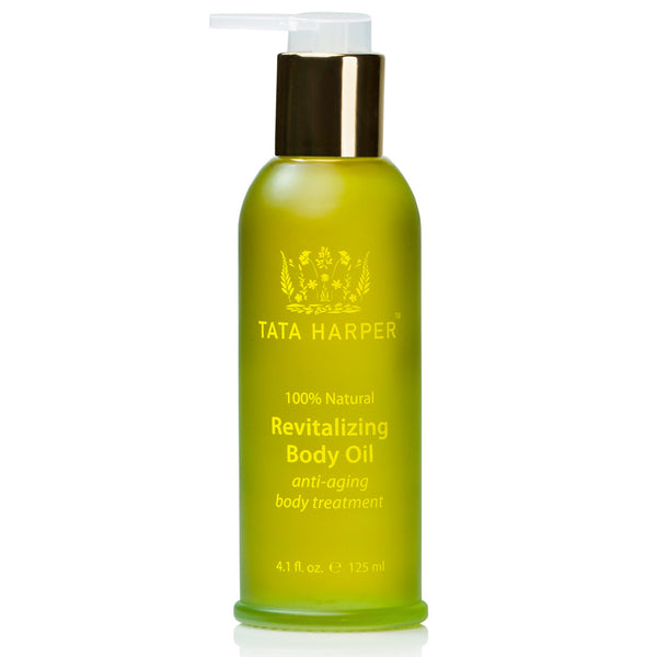 REVITALIZING BODY OIL <br> A decadent, delicious treatment for the entire body, delivers visibly more toned, radiant, youthful skin, 125ml