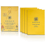 VITAMIN C & REVITALIZING <br> ORGANIC SHEET MASK BOX <br> 4 Sheets