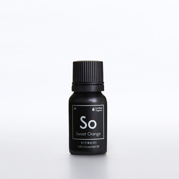 SWEET ORANGE • Organic <br> Pure Essential Oil, 10ml