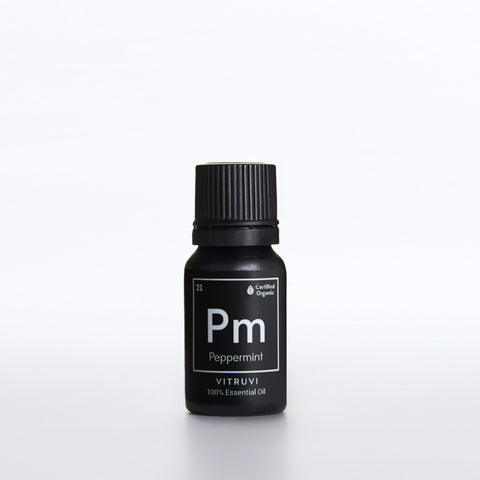 PEPPERMINT • Organic <br> Pure Essential Oil, 10ml