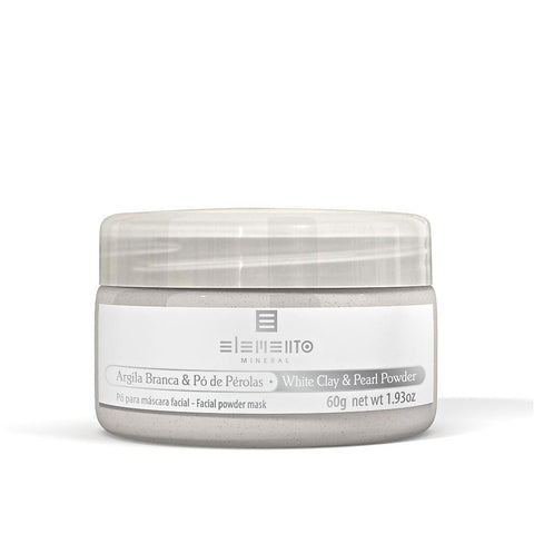 WHITE CLAY & PEARL POWDER <br> Clay Powder Facial Mask 60g
