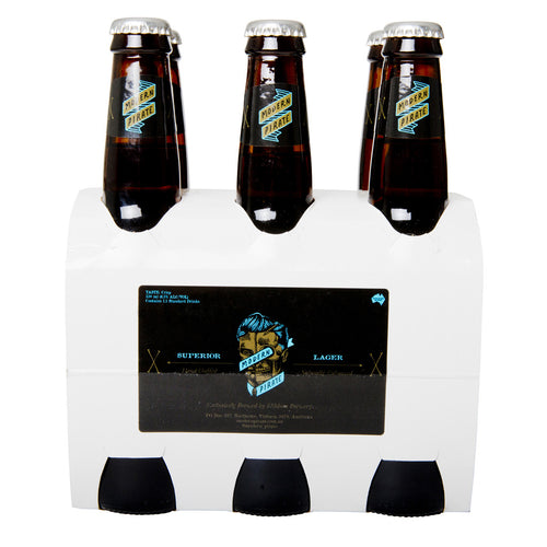 MODERN PIRATE SUPERIOR LAGER 6 PACK
