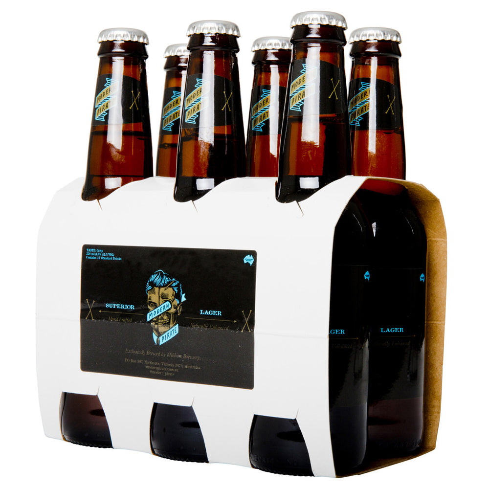 Load image into Gallery viewer, MODERN PIRATE SUPERIOR LAGER 6 PACK