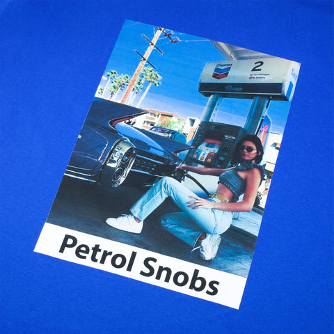 A¿M x Petrol Snobs Kendall T-Shirt, Royal Blue
