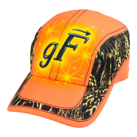 Airbrushed gF Logo Trail Cap