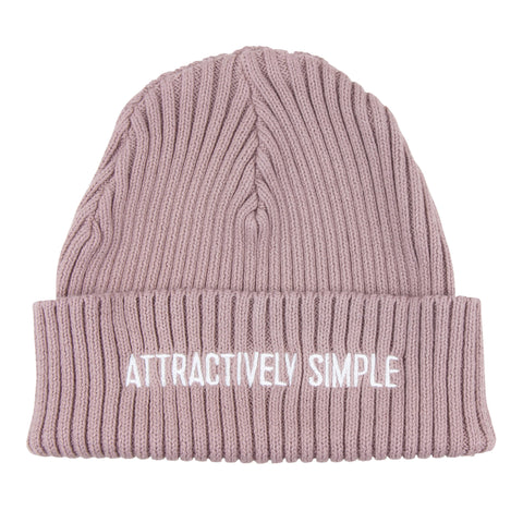 Attractively Simple Beanie, Shadow Purple