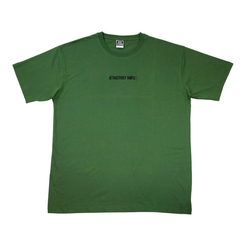 Attractively Simple Organic Cotton T-Shirt, Forest