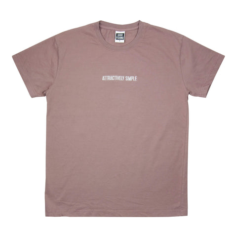 Attractively Simple T-Shirt, Shadow Purple