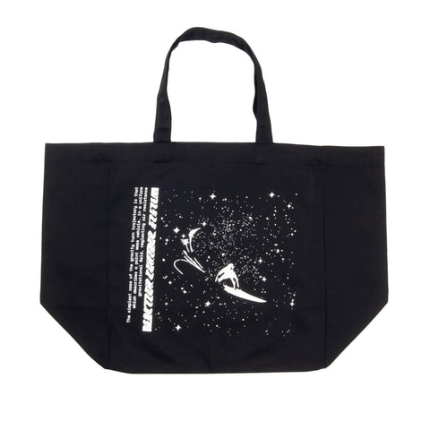 Stage 2: Galactic Surf Tote Bag, Black / Glow In The Dark