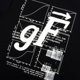 GOOD FISHING - Stage 1: Gravity Turn T-Shirt, Black / Glow In The Dark - Back Graphic Detail