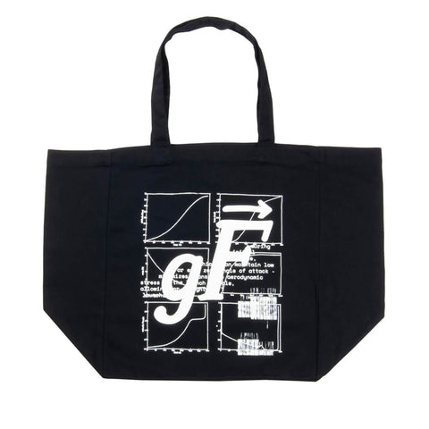 Stage 1: Gravity Turn Tote Bag, Black / Glow In The Dark