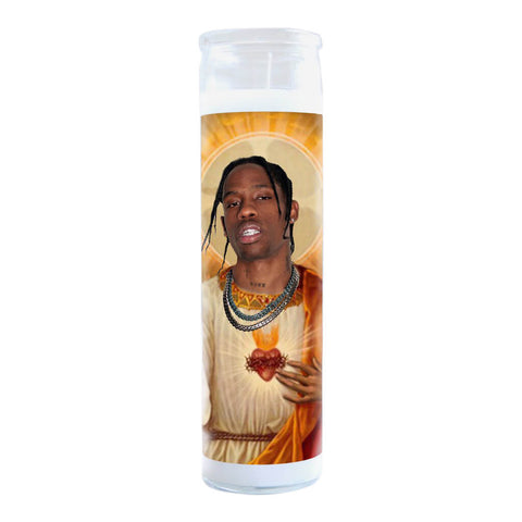 Illuminidol Prayer Candle, Travis Scott