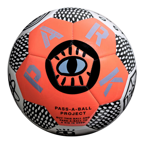 PARK Soccer Ball, Pass-A-Ball Project