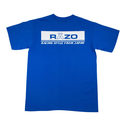 RÄZO Racing T-Shirt, Royal Blue