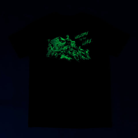 Stage 3: Welcome to the Wake T-Shirt, Black / Glow In The Dark