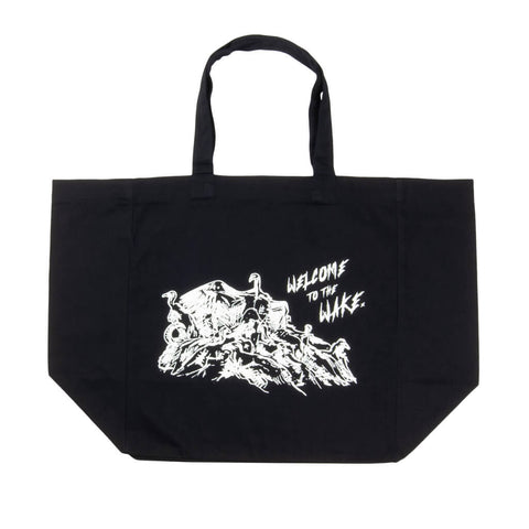 Stage 3: Welcome to the Wake Tote Bag, Black / Glow In The Dark