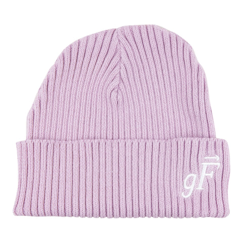 gF Logo Beanie, Cosmic Purple