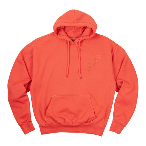 gF Logo Hoodie, Burnt Orange