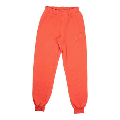 gF Logo Sweatpants, Burnt Orange