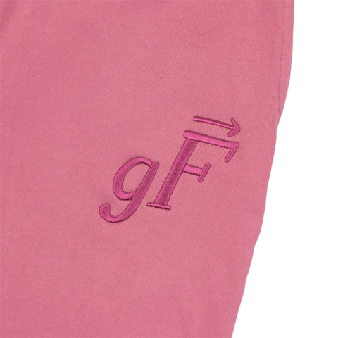 gF Logo Sweatpants, Cranberry
