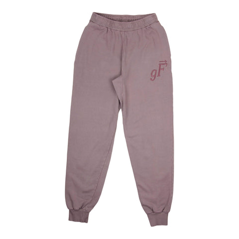 gF Logo Sweatpants, Shadow Purple