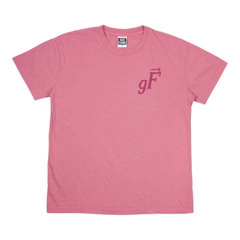 gF Logo T-Shirt, Cranberry