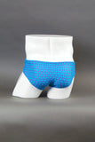 HAC Half Contour Swim Brief - Blue Coin